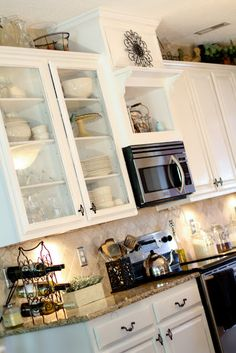 1000 Ideas About Microwave Above Stove On Pinterest