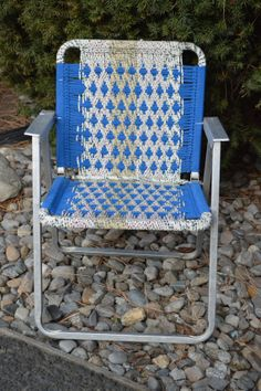 webbed folding lawn chairs best small gaming chair 1000+ images about webing for outside on pinterest | chairs, garden hose and macrame ...