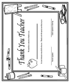 A free printable best teacher award certificate. Downloads