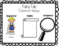 Fairy tale anchor chart. Add