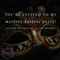 You can use this to update the rewards or to announce who the Mystery hostess is at the very end