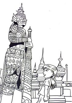 1000+ images about Thailand Coloring Pages on Pinterest