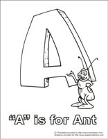 Alphabet coloring pages, Alphabet and Printable alphabet