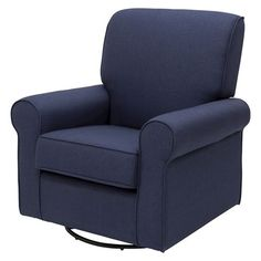 delta avery nursery glider chair grey cover rental northwest indiana eddie bauer upholstered wingback swivel - gray | bauer, gliders and