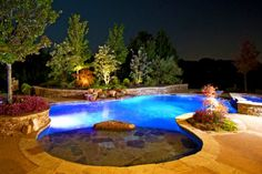 Desert pool landscape on Pinterest  Backyard Pools Pools and Pool Landscaping