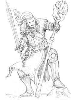 Minotaur by Max-Dunbar on deviantART armor clothes