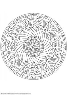 optical illusion coloring page Colouring Pages