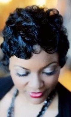 Black Hair Finger Waves Hairstyles Updo Short Hairstyles And Waves