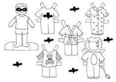 Therapy Thursday: Paper Dolls « Cochlear Implant Online