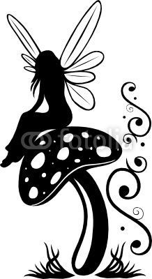 1000+ images about * Fairy Silhouettes, Vectors, Clipart