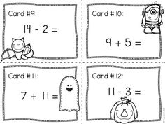 1000+ images about PK-2 Math + More on Pinterest