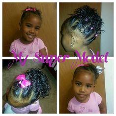 Hair Styles For Biracial Girls Biracial Hair Care Pinterest
