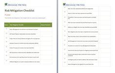 Risk Assessment Template #risk #sample #assessment #