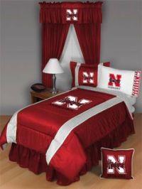 1000+ images about Nebraska huskers bed set on Pinterest ...