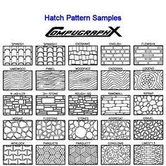 25+ Landscape Construction Details Standard Hatches Pictures