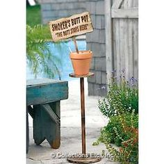 Practical Cheap Outdoor Ashtray! My Garden Is Getting One TODAY