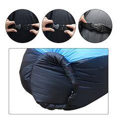 iregro chaise gonflable portable etanche durable poids leger polyester air sofa exterieur avec oreiller pour