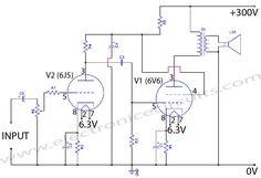 Class-A-6J5-Vacuum-Tube-Preamp-Pre-amp-Preamplifier-HIFI