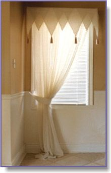 One Panel Curtain For Small Window LOVE The Curtain Rod! Does