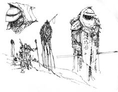1000+ images about Michael Kirkbride Morrowind Sketches on