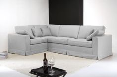 sectional sofas with removable slipcovers camas baratos barcelona 1000+ images about divani angolari on pinterest ...