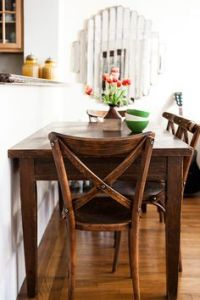 Dining Tables Against Wall on Pinterest | Dining Tables ...
