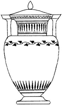 Decorate a Greek vase