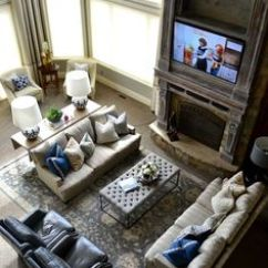 Lee Industries Leather Sofa Grey Throw Over Living Room With Two Recliners & Couches   Home ...