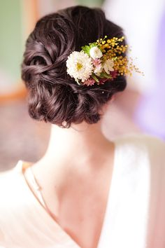 1000 images about flower hair accents on pinterest hair flowers wedding hair flowers and
