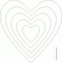 1000+ images about CORAZONES, TEMPLATES CARDS DE LYN CON