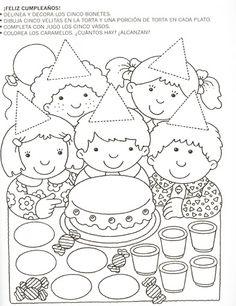 Fichas para preescolar: Una forma de celebrar la amistad