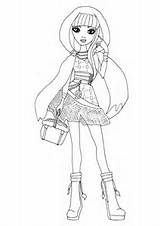 Ever After High Coloring Pages: Raven Queen and Apple