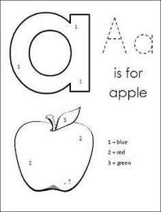 Alphabet Sequence Printables {Fall Theme}; PreK, K, First
