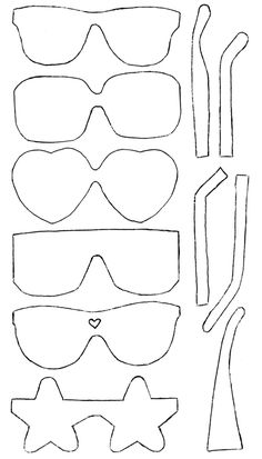 Necktie pattern. Use the printable outline for crafts