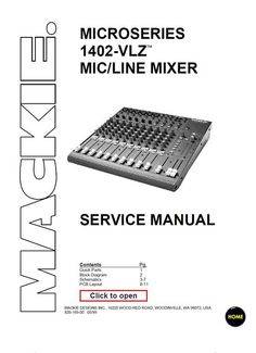 1000+ images about DJ Mixers Service Manuals on Pinterest