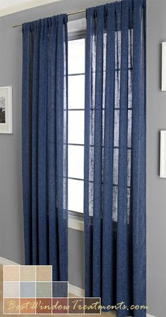 Superb Radiant Linen Curtain Panel Best Window Treatments Window