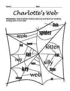 A School Called Home: Being Creative with Charlotte's Web