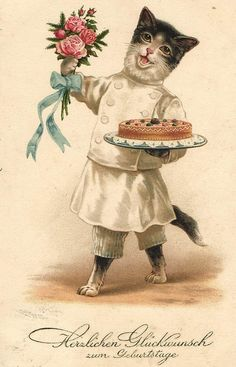 1000 Images About Victorian Cats On Pinterest Vintage