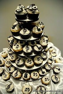 1000 Ideas About Music Cupcakes On Pinterest Music