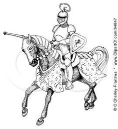 Beautiful, Knight and Horses on Pinterest