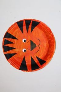 Paper Plate Wolf Craft for kids   Open House   Pinterest ...