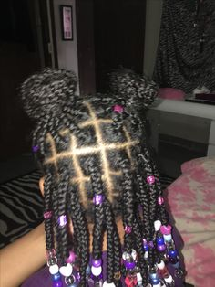 Little girls Box braids  Mya hairstyles  Pinterest  Girls Boxes and Braids