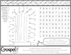 ***FREE*** Luke 12.13-21 Treasure in Heaven Coloring Page