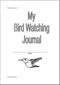 Printable Backyard Birds Checklist: How many of these