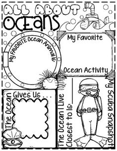 Download and Print coloring pages of sea animals preschool