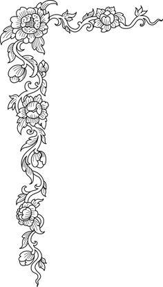 Embroidery Borders & Corners & Blocks on Pinterest