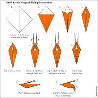 origami hummingbird diagram instructions of a pill bug sea horse | pinterest and animals