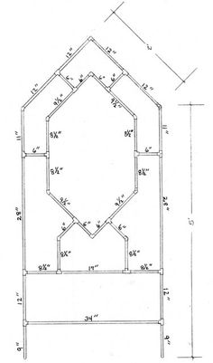 DIY Metal Trellis Plans: How To Make A Garden from Copper