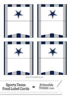 1000 Images About Dallas Cowboys Printables On Pinterest