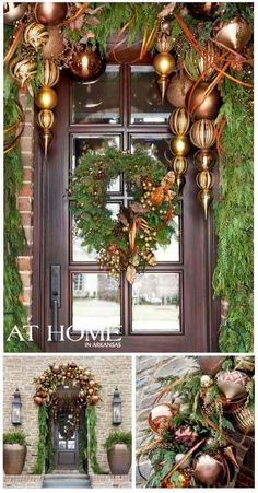 1000+ images about Christmas Entry Ways on Pinterest